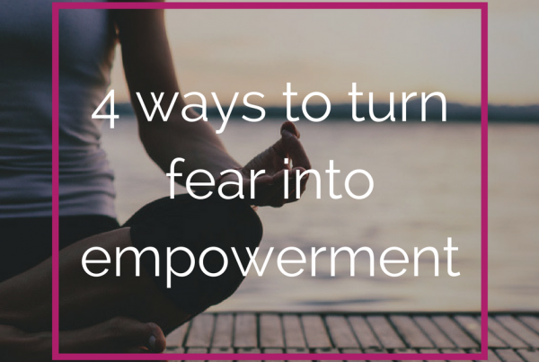 turn fear into empowerment lexlee overton shaman energy