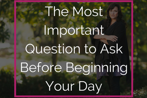lexlee overton most important question to ask before beginning your day